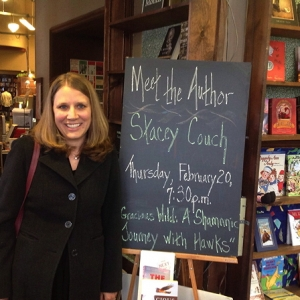 (2014) The Tattered Cover Bookstore in Denver, CO hosts Stacey Couch for a book signing.