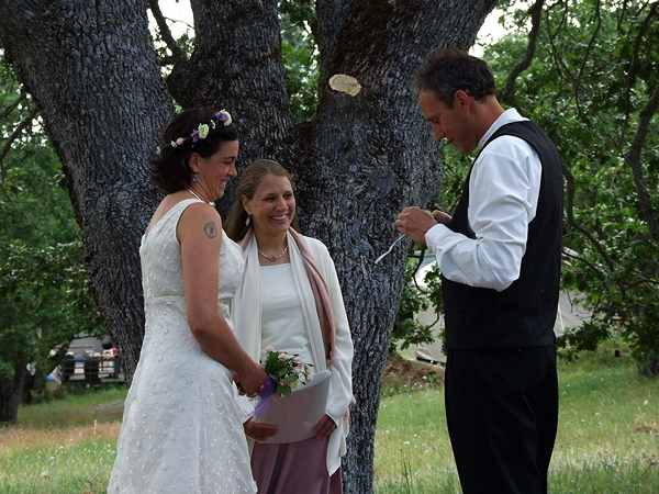 wedding officiant stacey couch