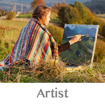 artistic person